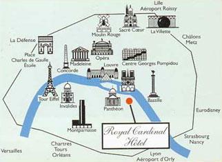 Royal cardinal hotel cheap paris latin quarter hotel - Trajet metro gare de lyon porte de versailles ...